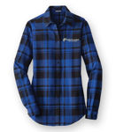 Picture of LW668 - Plaid Flannel Tunic